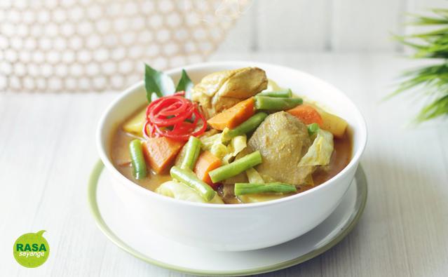 Kari Ayam Sayur | rasasayange.co.id